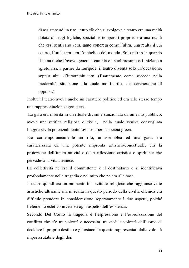 Anteprima della tesi: Rapporti tra teatralità e ritualità con particolare riferimento a Bartabas, Pagina 15