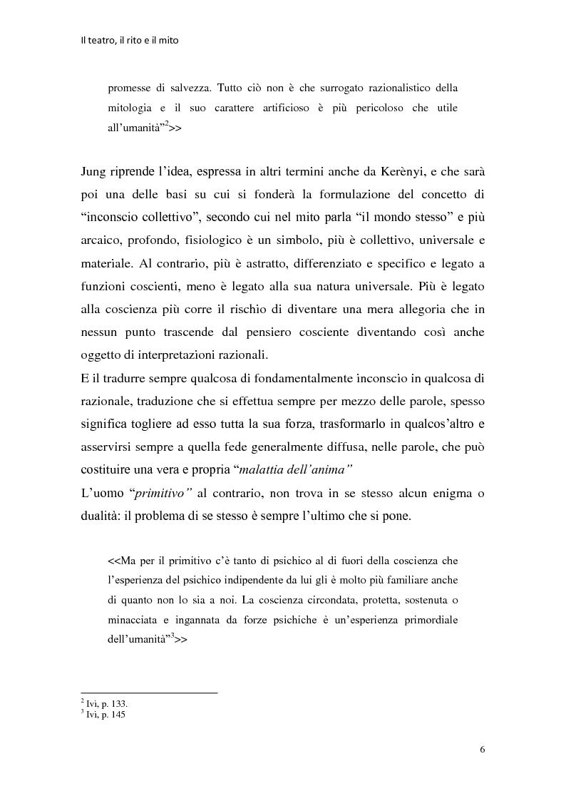 Anteprima della tesi: Rapporti tra teatralità e ritualità con particolare riferimento a Bartabas, Pagina 7