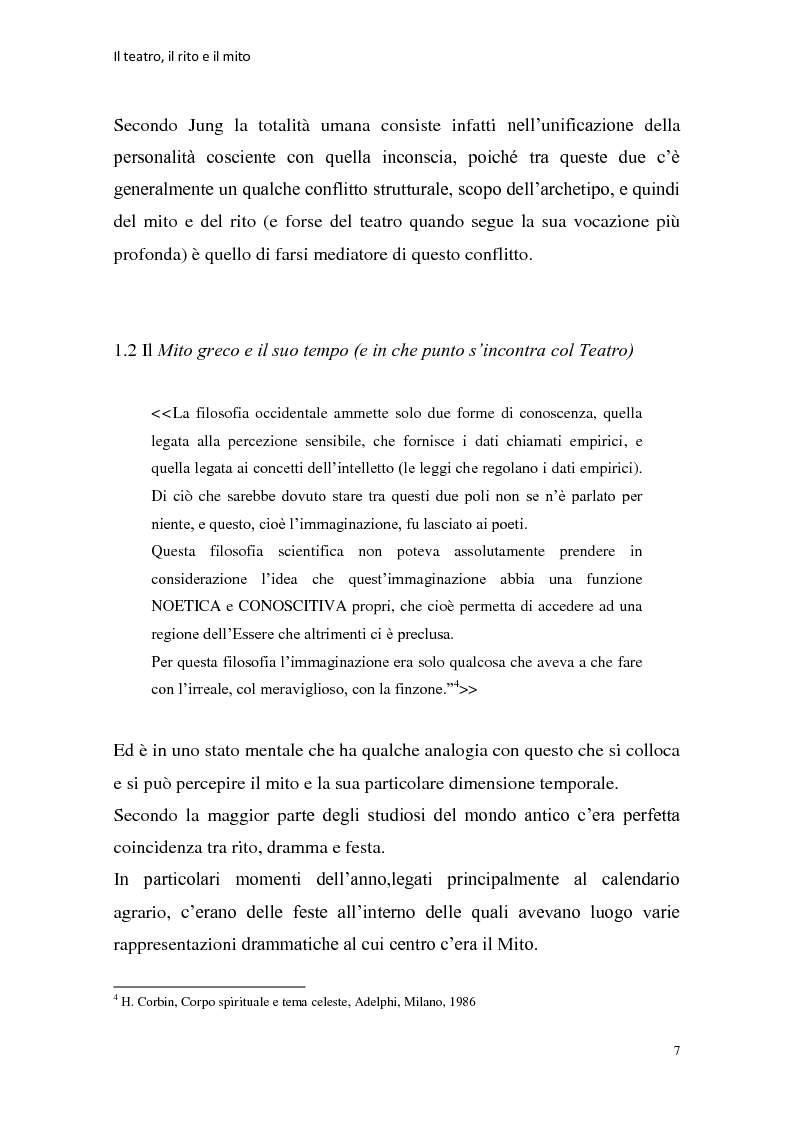 Anteprima della tesi: Rapporti tra teatralità e ritualità con particolare riferimento a Bartabas, Pagina 8