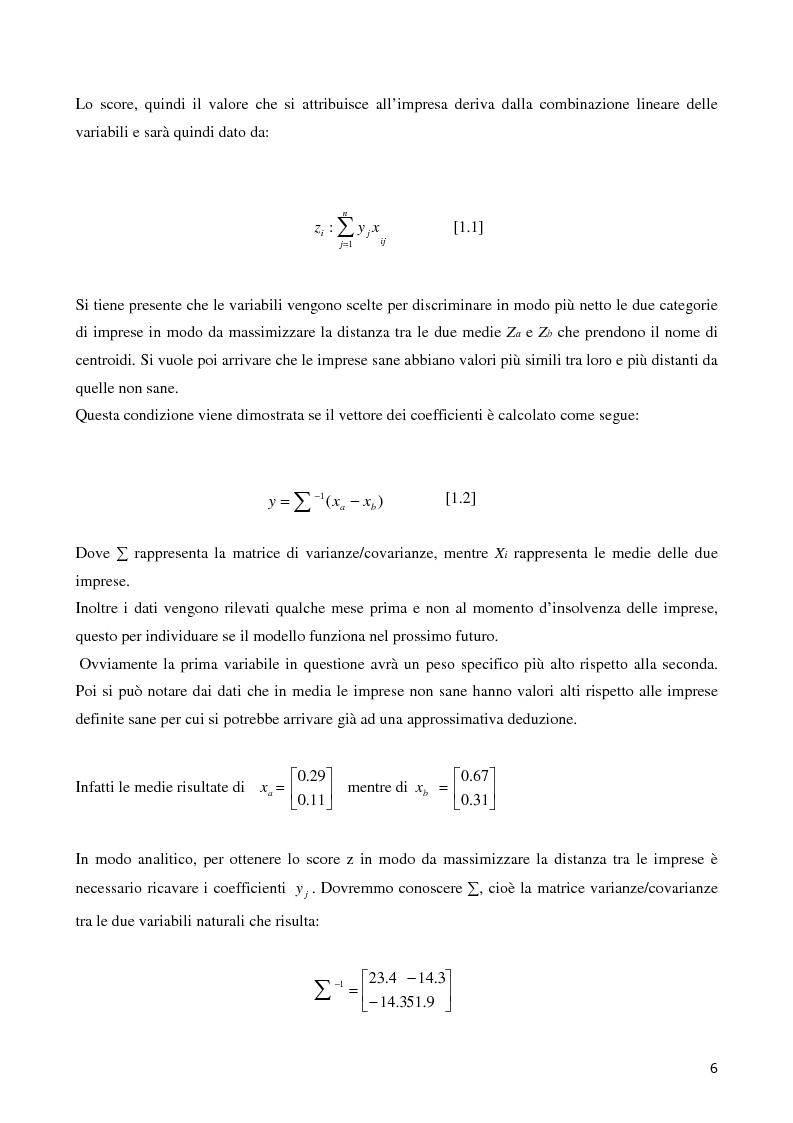 Anteprima della tesi: La valutazione del merito di credito delle PMI. Il caso della Bcc del Garda, Pagina 7
