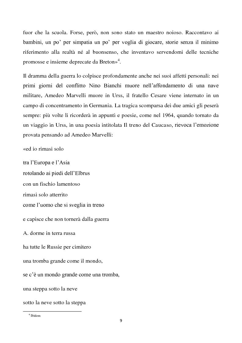 Anteprima della tesi: La scuola della fantasia. I bambini e le bambine di Gianni Rodari, Pagina 6