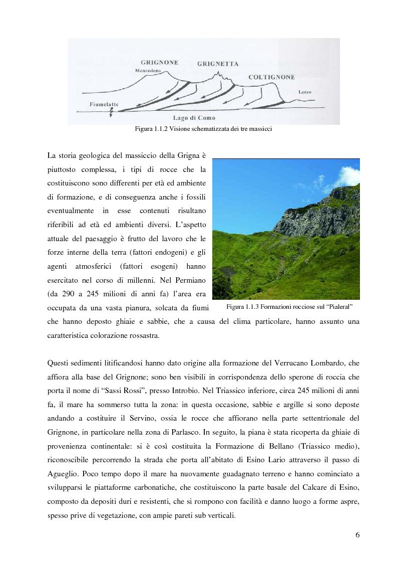 Anteprima della tesi: Individuazione di itinerari botanici nel gruppo della Grigne attraverso il GIS e le tecnologie mobili, Pagina 5