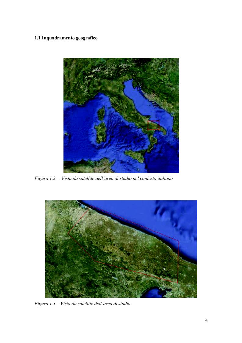 Anteprima della tesi: Analisi multitemporale (1815-2010) delle variazioni dell'uso del suolo (Murgia, Puglia): conseguenze sulle risorse idriche sotterranee, Pagina 5