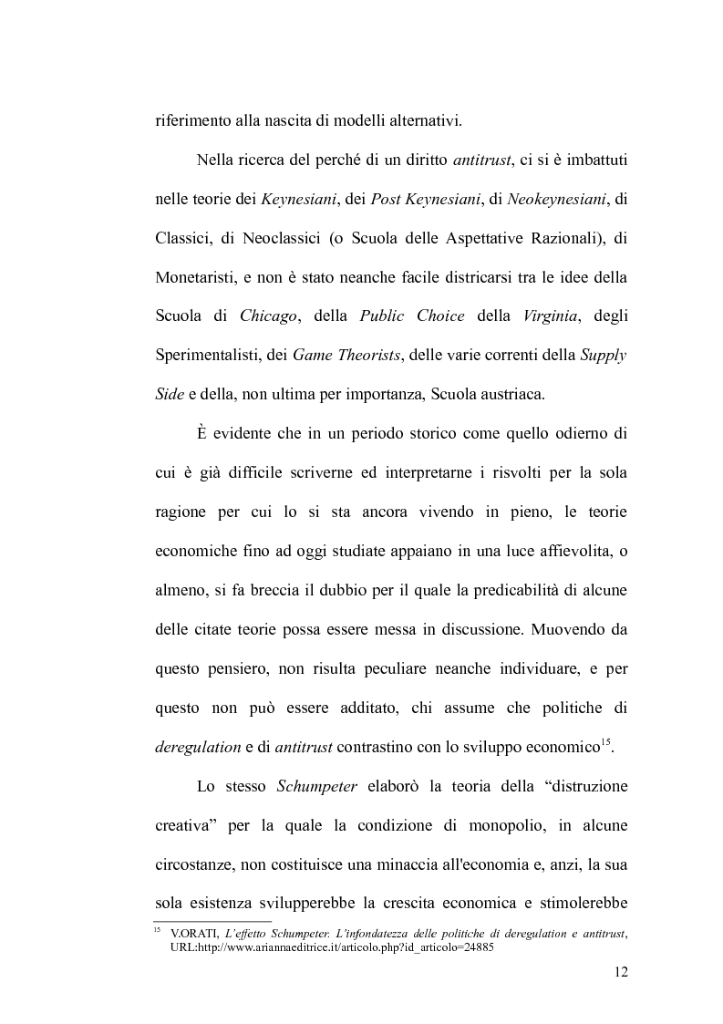 Anteprima della tesi: Antitrust Private Enforcement: Stati Uniti e Unione Europea a confronto, Pagina 13