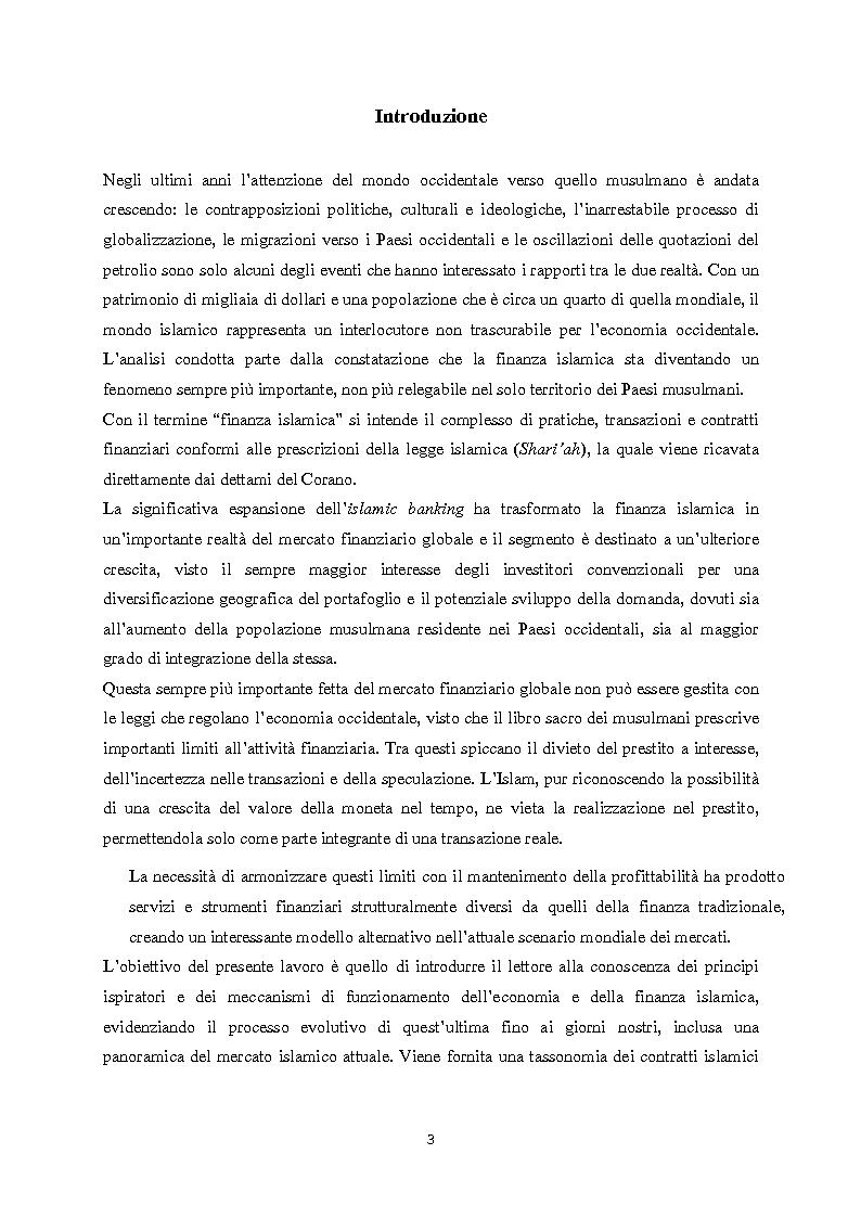 Anteprima della tesi: Finanza islamica: le peculiarità dei fondi islamici; il caso BNP Asset Management., Pagina 2
