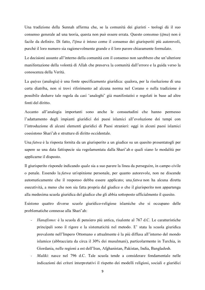 Anteprima della tesi: Finanza islamica: le peculiarità dei fondi islamici; il caso BNP Asset Management., Pagina 8