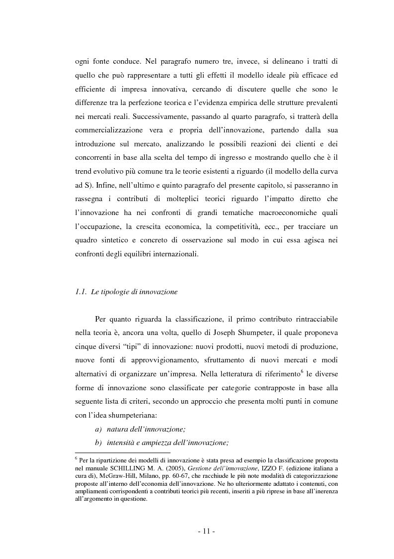 Anteprima della tesi: Il ruolo dei fondi pubblici nel finanziamento all'innovazione. Il caso della E++ S.r.l., Pagina 10