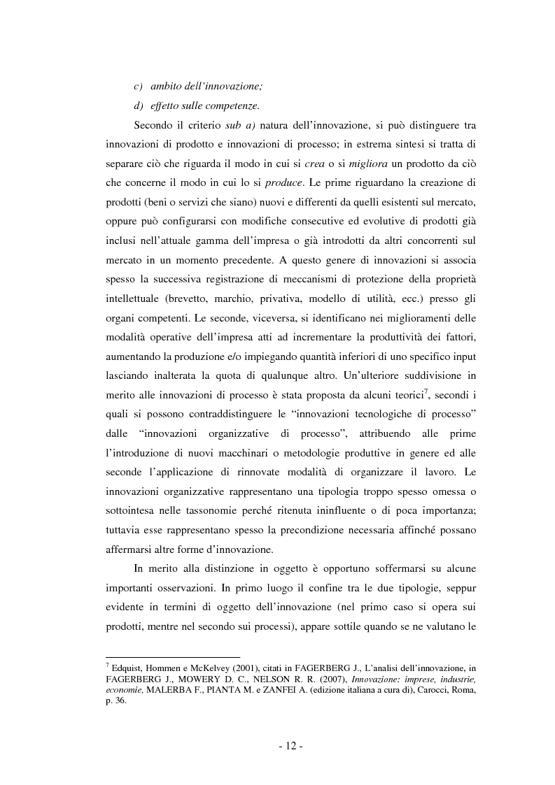 Anteprima della tesi: Il ruolo dei fondi pubblici nel finanziamento all'innovazione. Il caso della E++ S.r.l., Pagina 11