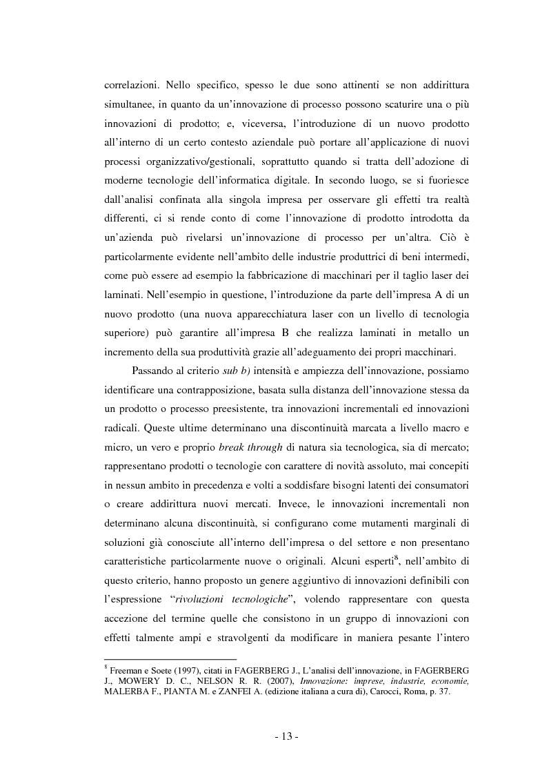 Anteprima della tesi: Il ruolo dei fondi pubblici nel finanziamento all'innovazione. Il caso della E++ S.r.l., Pagina 12