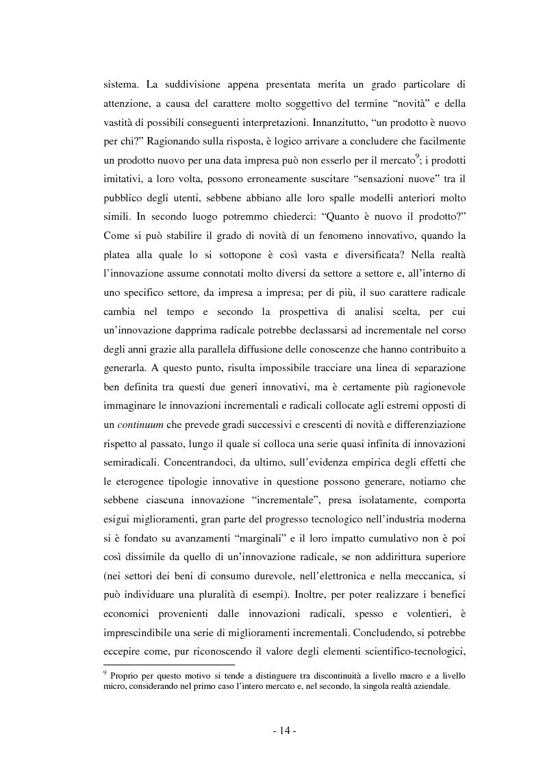 Anteprima della tesi: Il ruolo dei fondi pubblici nel finanziamento all'innovazione. Il caso della E++ S.r.l., Pagina 13