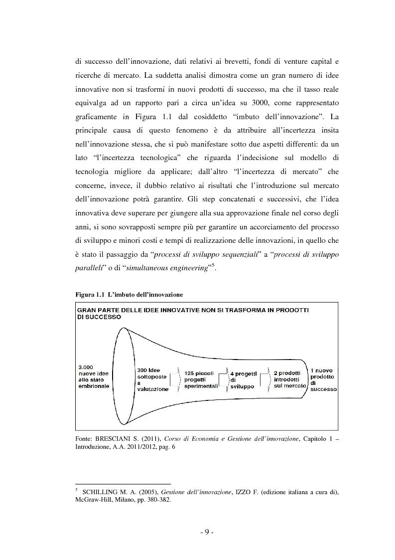 Anteprima della tesi: Il ruolo dei fondi pubblici nel finanziamento all'innovazione. Il caso della E++ S.r.l., Pagina 8