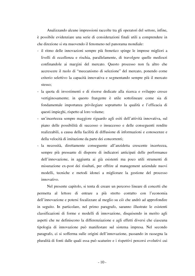 Anteprima della tesi: Il ruolo dei fondi pubblici nel finanziamento all'innovazione. Il caso della E++ S.r.l., Pagina 9