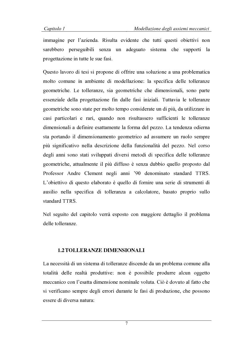 Anteprima della tesi: Uno strumento assistito dal calcolatore per la modellazione degli assiemi meccanici basato sulla teoria TTRS, Pagina 3