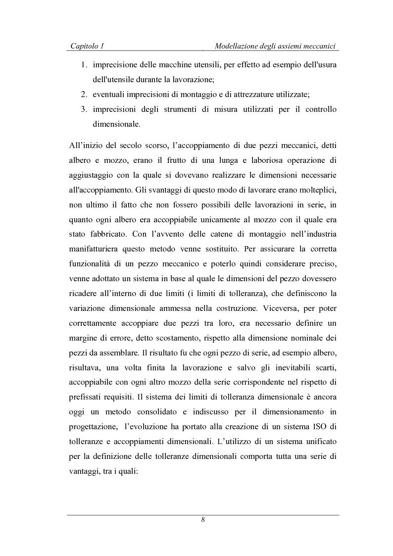Anteprima della tesi: Uno strumento assistito dal calcolatore per la modellazione degli assiemi meccanici basato sulla teoria TTRS, Pagina 4