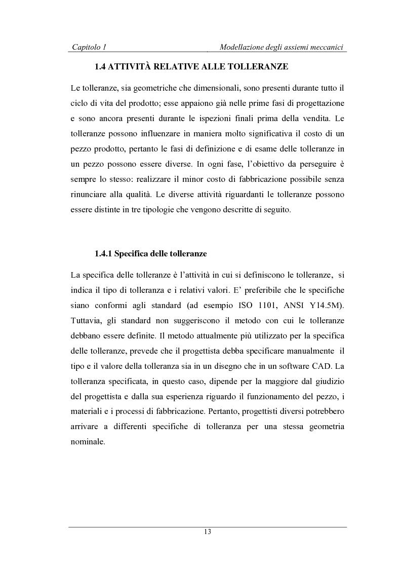 Anteprima della tesi: Uno strumento assistito dal calcolatore per la modellazione degli assiemi meccanici basato sulla teoria TTRS, Pagina 9
