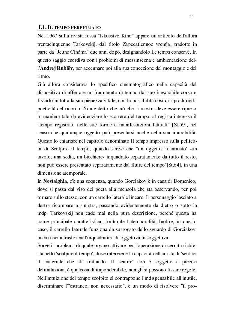Anteprima della tesi: Il Cinema di Andrej Tarkovskij, Pagina 8