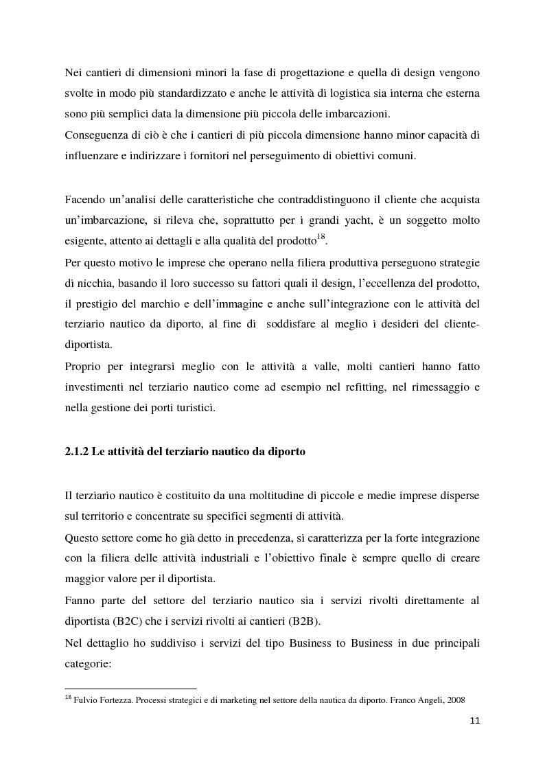 Anteprima della tesi: Il settore della nautica e la crisi. Il caso del riposizionamento competitivo di General s.r.l., Pagina 10