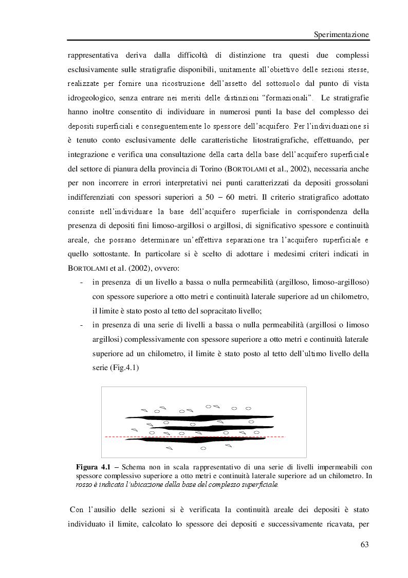 Anteprima della tesi: Studio geologico-ambientale del settore della provincia di Torino compreso tra il Fiume Dora Riparia e i torrenti Ceronda e Casternone, Pagina 12