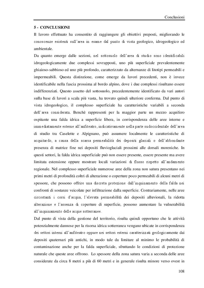 Anteprima della tesi: Studio geologico-ambientale del settore della provincia di Torino compreso tra il Fiume Dora Riparia e i torrenti Ceronda e Casternone, Pagina 15