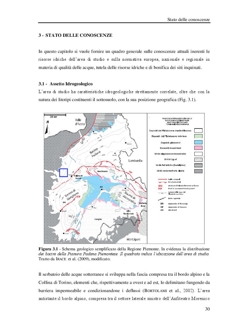 Anteprima della tesi: Studio geologico-ambientale del settore della provincia di Torino compreso tra il Fiume Dora Riparia e i torrenti Ceronda e Casternone, Pagina 8