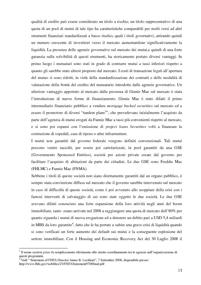Anteprima della tesi: Mutui sub-prime e cartolarizzazione nella crisi finanziaria del 2007, Pagina 12