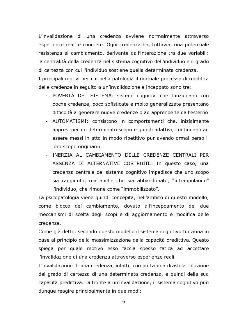 Anteprima della tesi: Teorie psicologiche ingenue sull'agorafobia nei forum on-line, Pagina 7