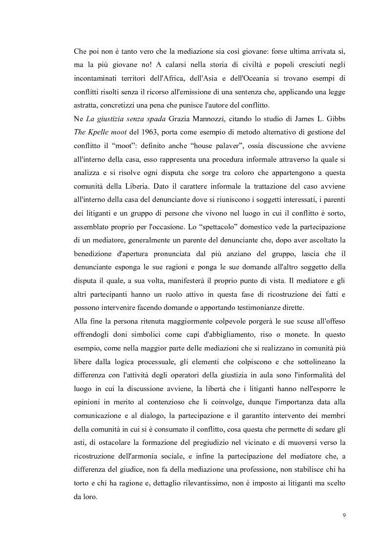 Anteprima della tesi: Ripensare Riparando. Riflessione sulla dimensione psicologica della mediazione penale., Pagina 6