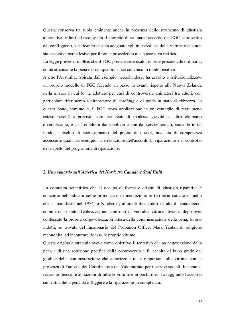 Anteprima della tesi: Ripensare Riparando. Riflessione sulla dimensione psicologica della mediazione penale., Pagina 8