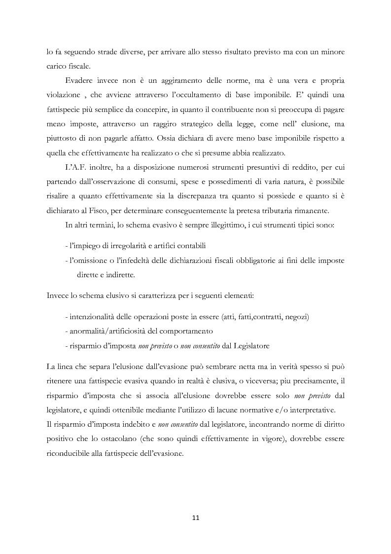 Anteprima della tesi: Elusione fiscale e abuso del diritto nelle operazioni straordinarie d'impresa, Pagina 6