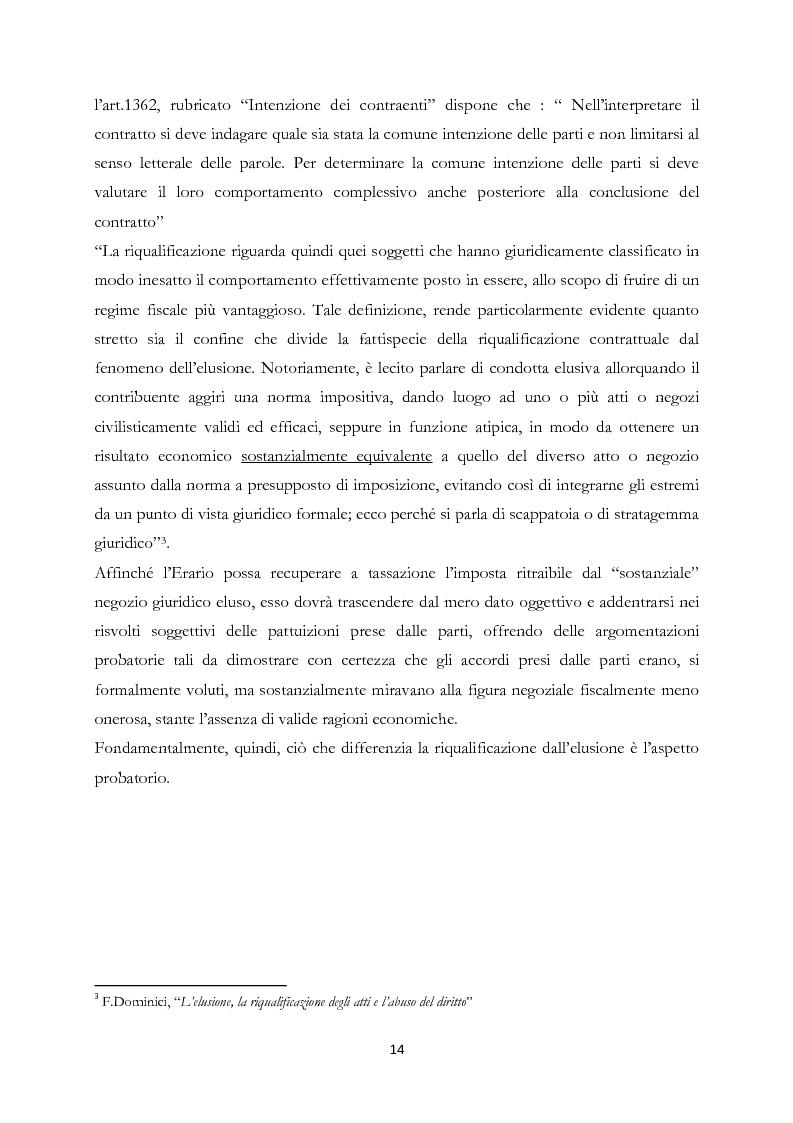 Anteprima della tesi: Elusione fiscale e abuso del diritto nelle operazioni straordinarie d'impresa, Pagina 9