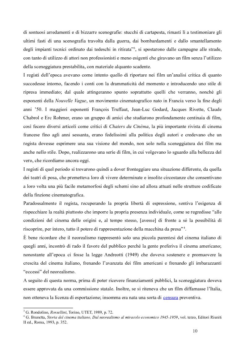 Anteprima della tesi: La trilogia della solitudine nella filmografia di Roberto Rossellini, Pagina 5