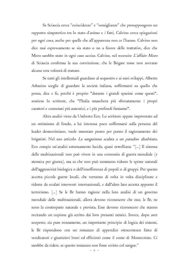 Anteprima della tesi: Il caso Moro e gli intellettuali, Pagina 6
