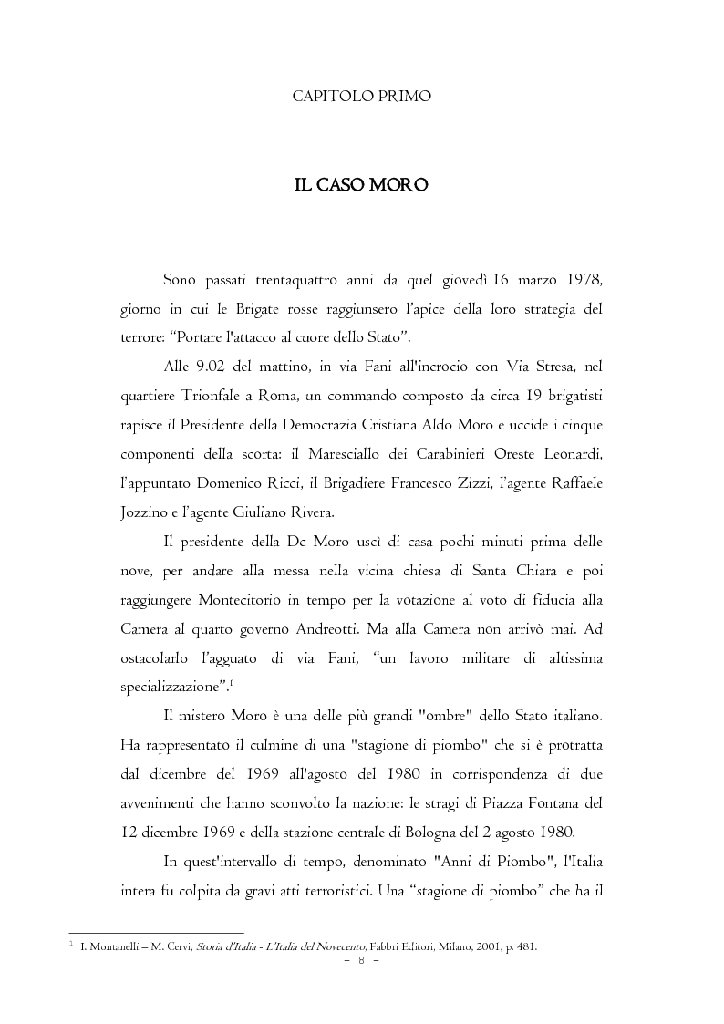 Anteprima della tesi: Il caso Moro e gli intellettuali, Pagina 8