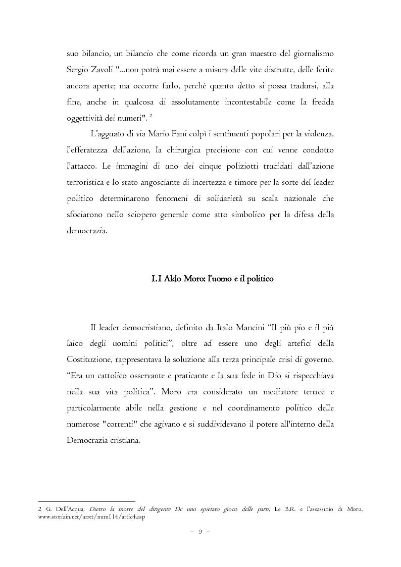 Anteprima della tesi: Il caso Moro e gli intellettuali, Pagina 9