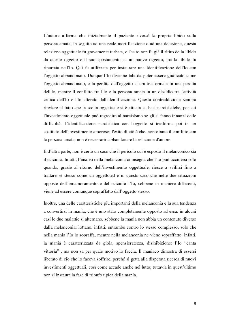 Anteprima della tesi: Un percorso melanconico, Pagina 3