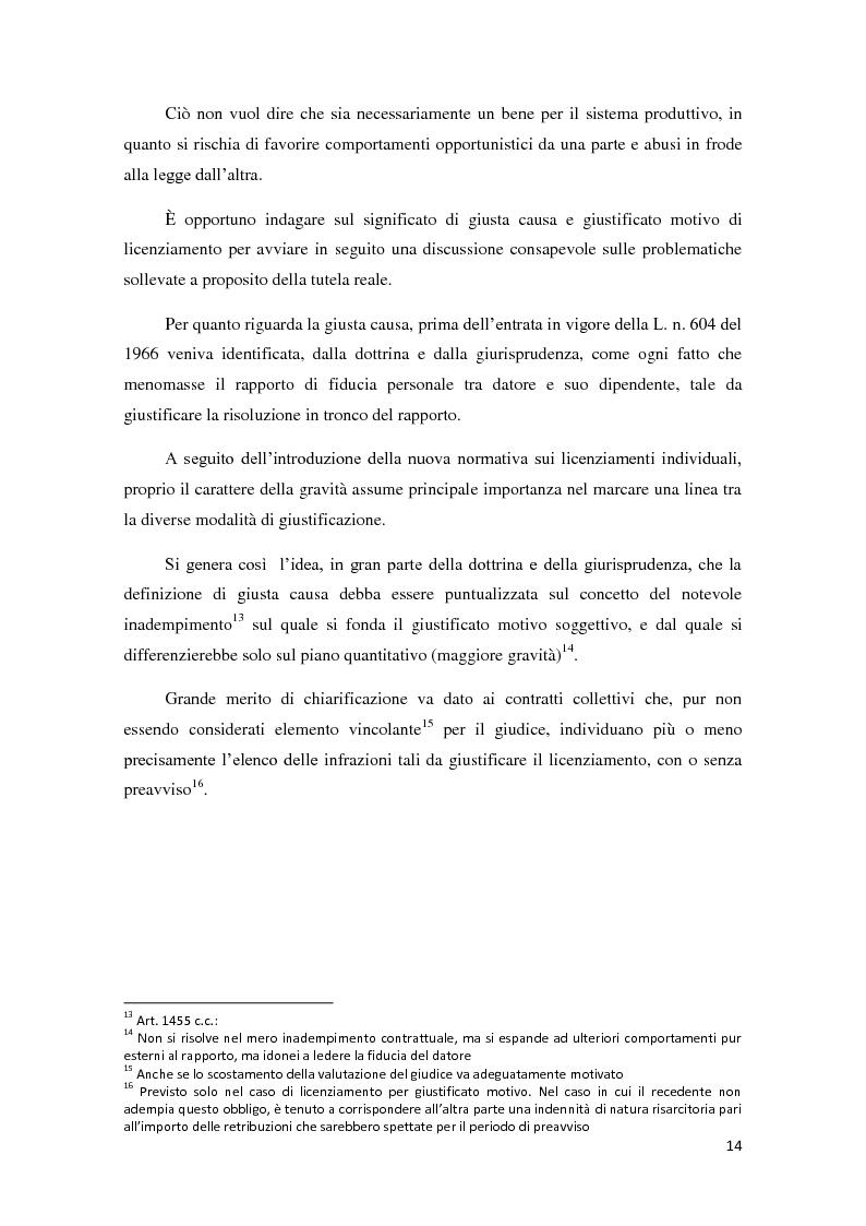 Anteprima della tesi: La ricerca della flessibilità. Competitività e tutele nel mercato globale, Pagina 11