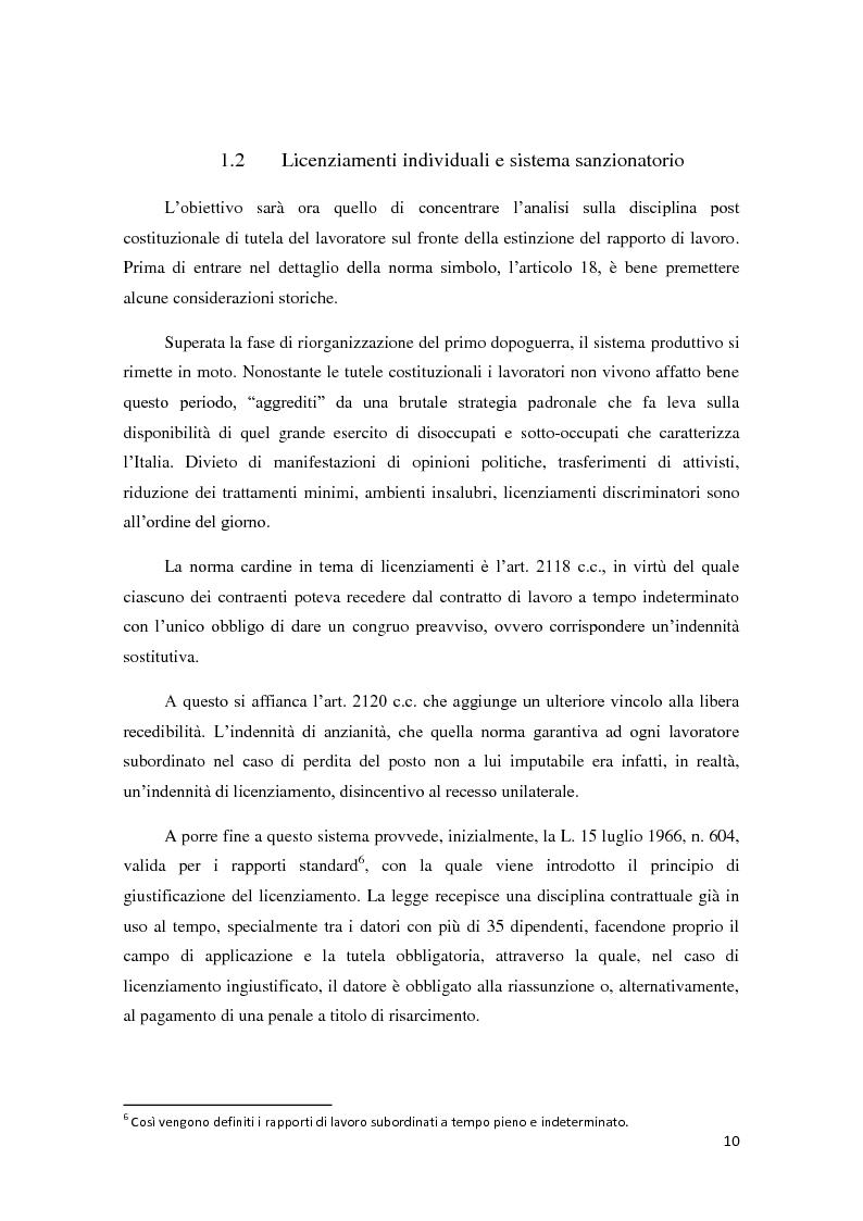 Anteprima della tesi: La ricerca della flessibilità. Competitività e tutele nel mercato globale, Pagina 7