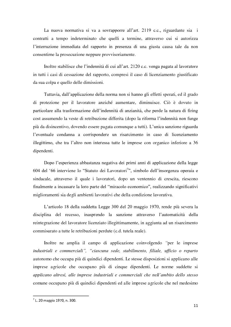 Anteprima della tesi: La ricerca della flessibilità. Competitività e tutele nel mercato globale, Pagina 8