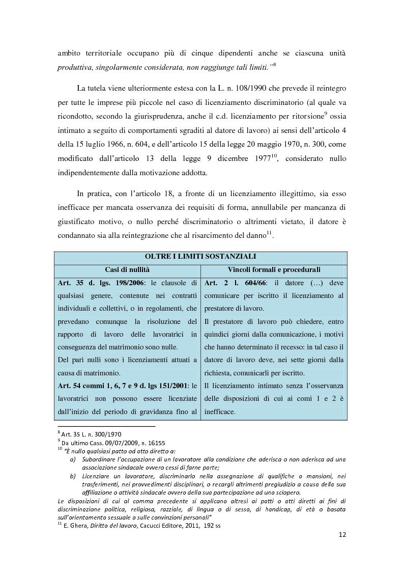 Anteprima della tesi: La ricerca della flessibilità. Competitività e tutele nel mercato globale, Pagina 9