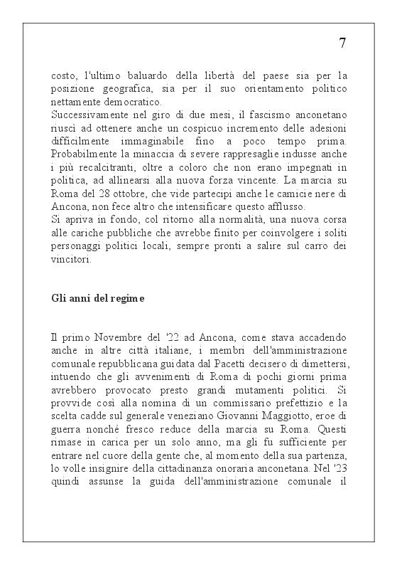 Anteprima della tesi: Ancona nella R. S. I. (6 ottobre 1943 - 18 luglio 1944), Pagina 10