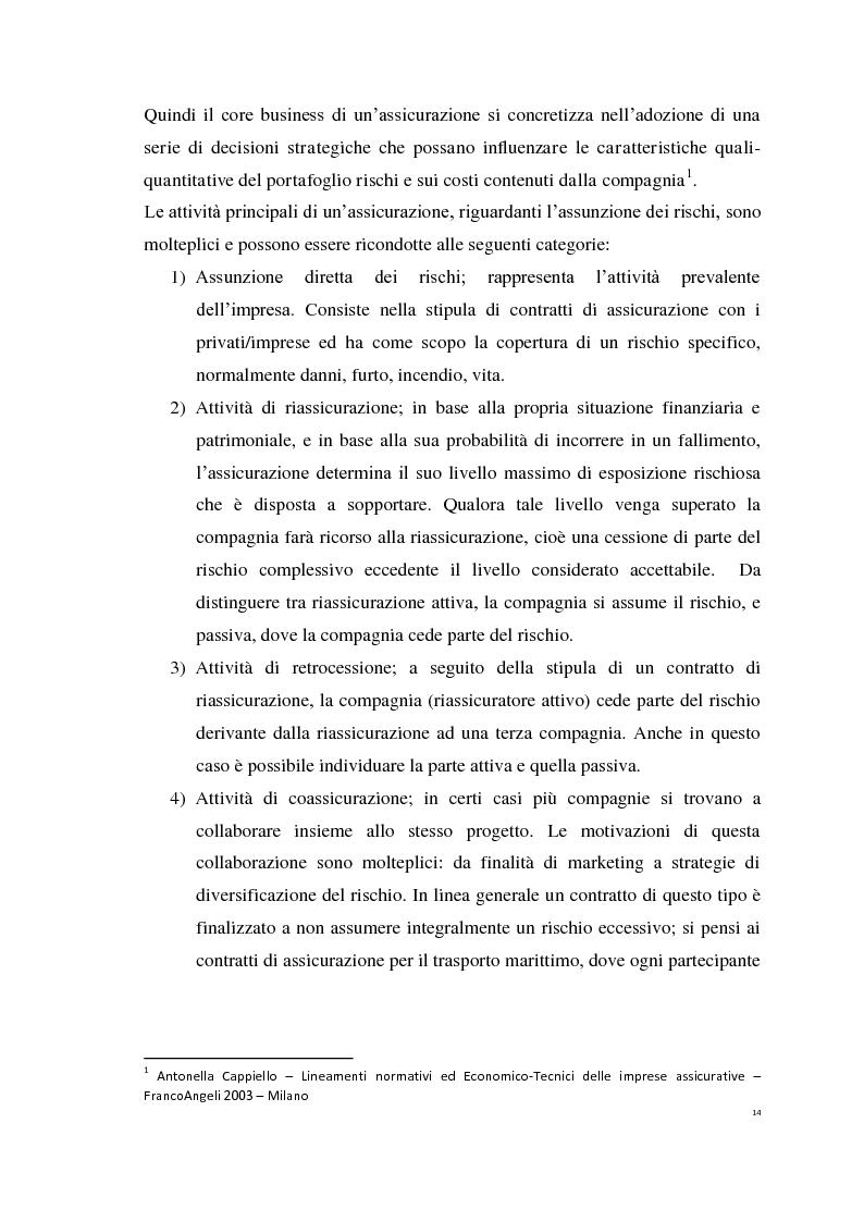 Anteprima della tesi: Le Polizze RCAuto; Profili di rischio e analisi del fenomeno della fraudolenza, Pagina 11