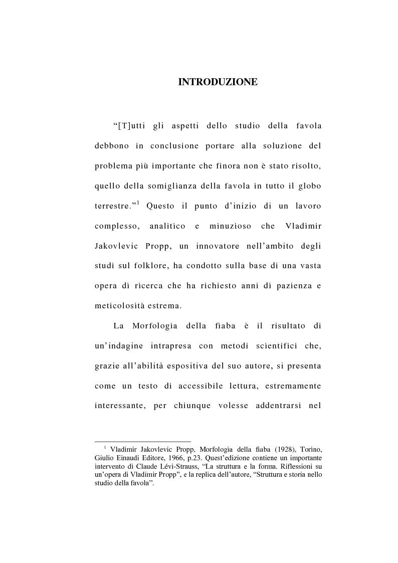 Anteprima della tesi: La favola e il mito dell'eroe. Analisi strutturale di tre classici della letteratura indiana americana contemporanea, Pagina 2