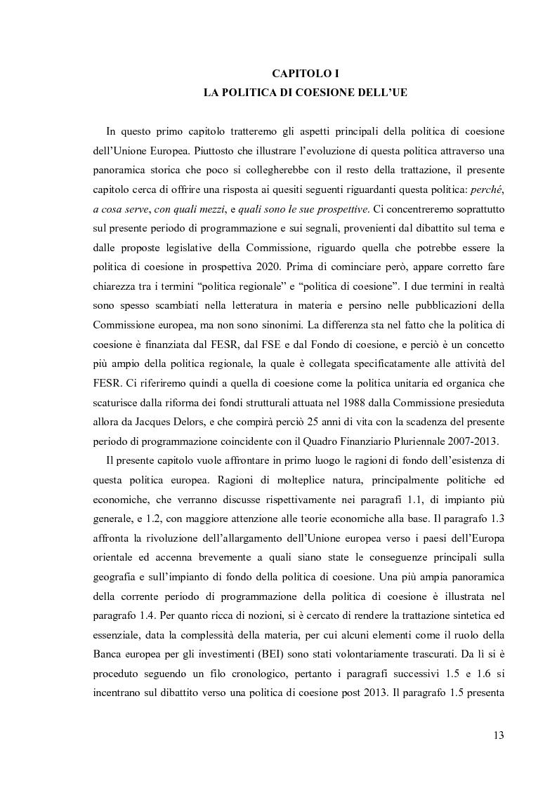 Anteprima della tesi: Valutare la politica di coesione dell'UE: l'approccio quantitativo dei modelli macroeconomici, Pagina 6