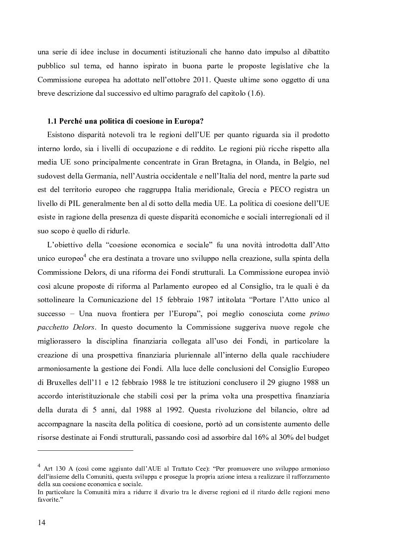 Anteprima della tesi: Valutare la politica di coesione dell'UE: l'approccio quantitativo dei modelli macroeconomici, Pagina 7