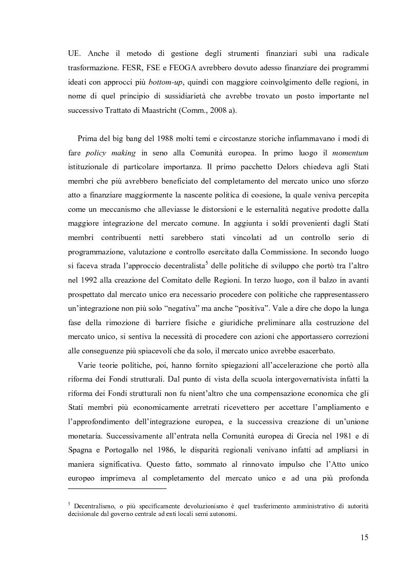 Anteprima della tesi: Valutare la politica di coesione dell'UE: l'approccio quantitativo dei modelli macroeconomici, Pagina 8