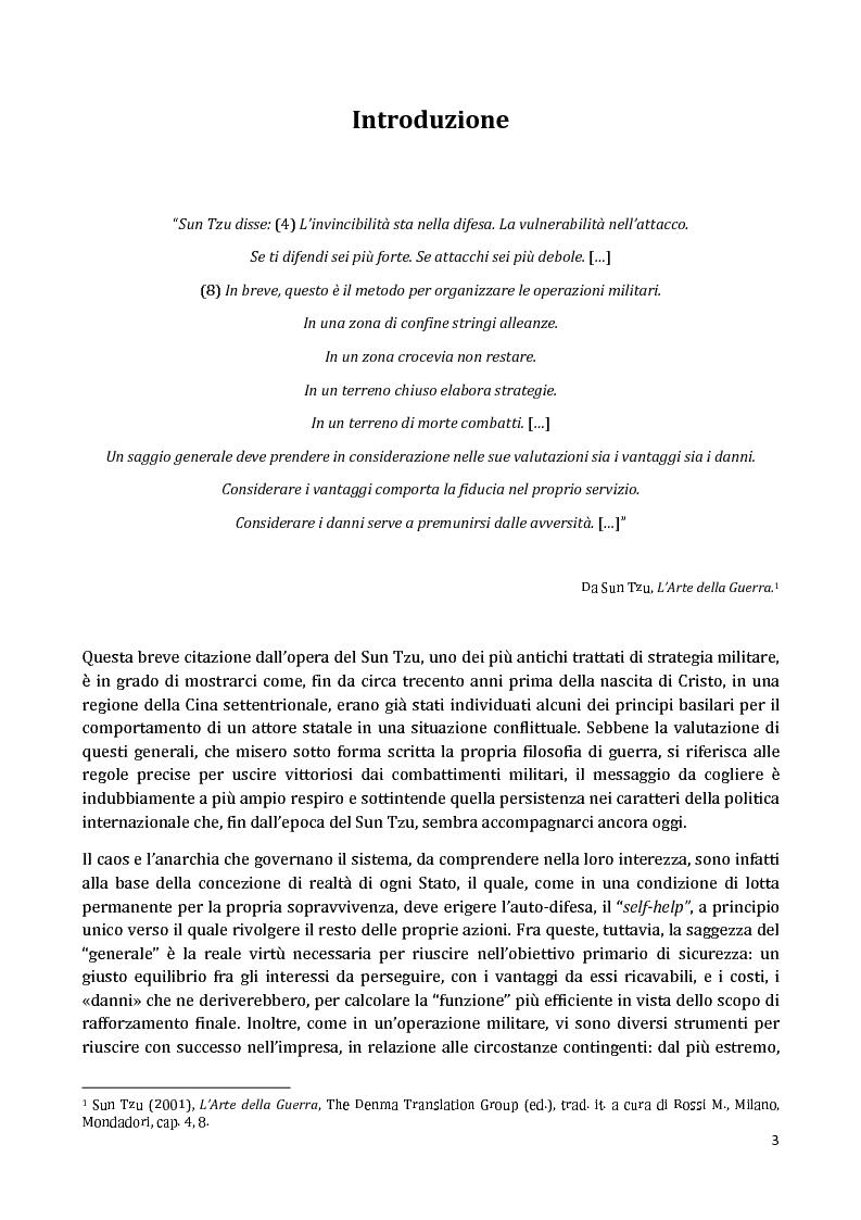 Anteprima della tesi: I Partnership Frameworks dell'Alleanza Atlantica: Istituzionalismo e Neorealismo a confronto, Pagina 2