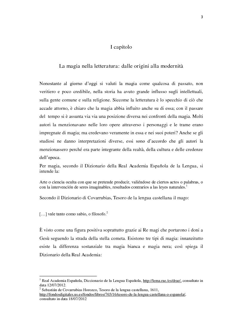 Anteprima della tesi: ''Y todo era burla y mentira''; la magia di Celestina tra Fernando de Rojas e Feliciano de Silva, Pagina 3