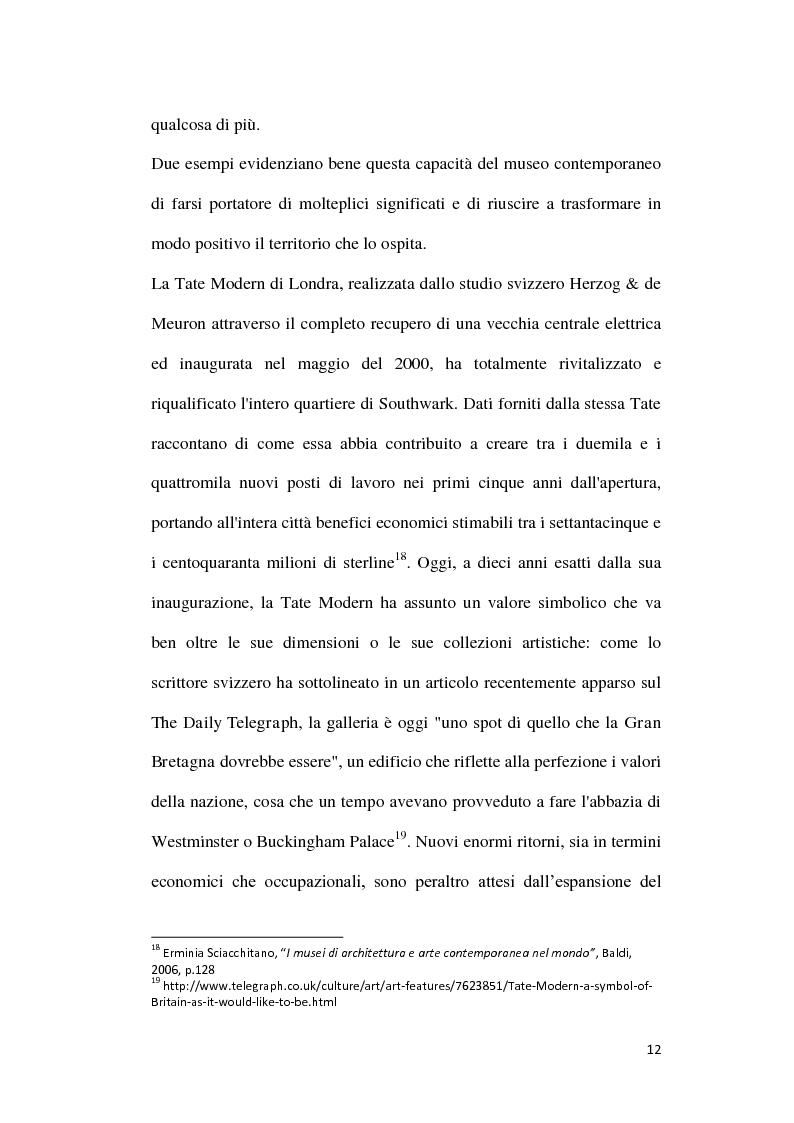 Anteprima della tesi: La comunicazione web dei musei di arte contemporanea, Pagina 13
