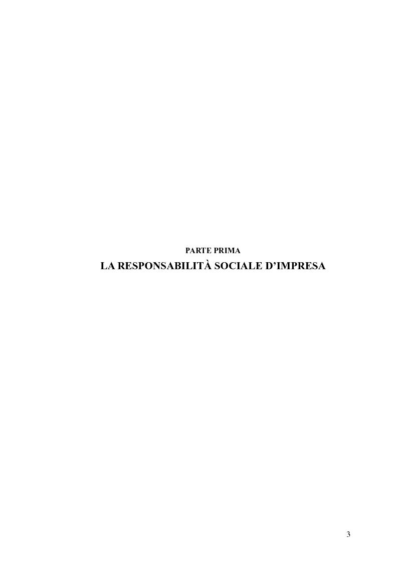 Anteprima della tesi: Business Ethics: creare valore sostenibile e condiviso attraverso la Corporate Social Responsibility, Pagina 4
