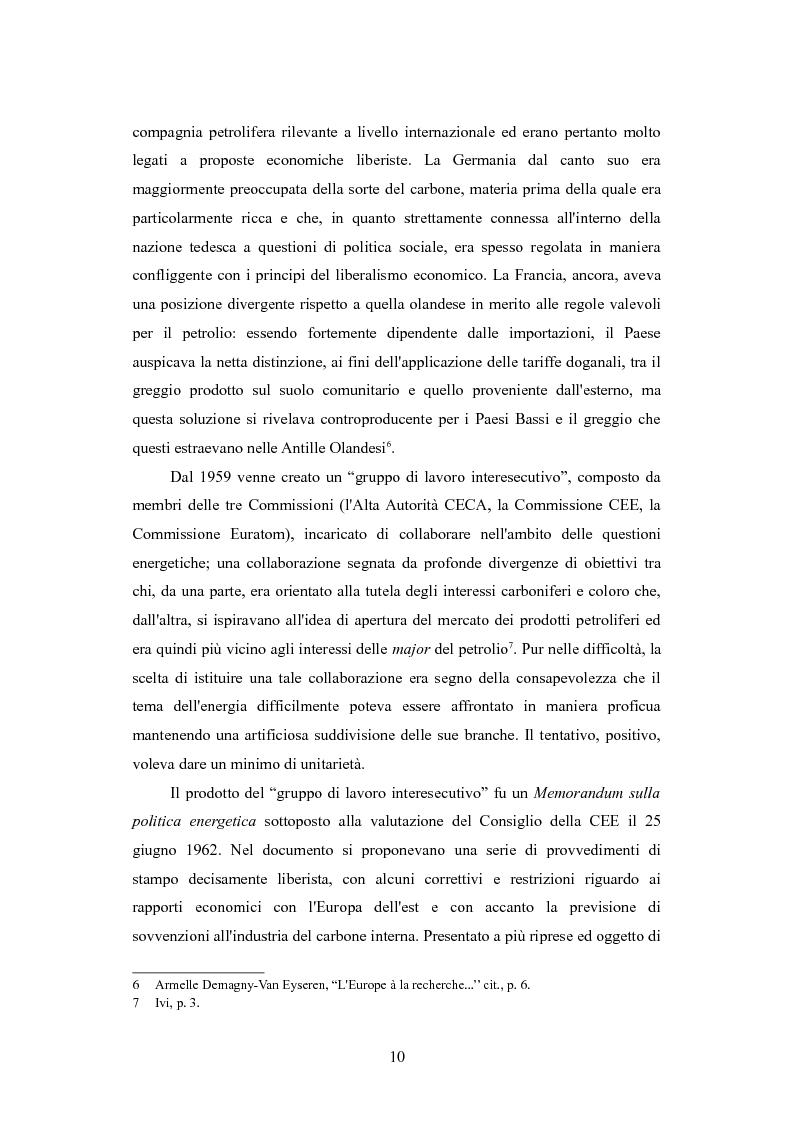 Anteprima della tesi: Le politiche per l'energia dell'Unione europea e le relazioni con l'area del Mar Caspio, 1989-1999., Pagina 9